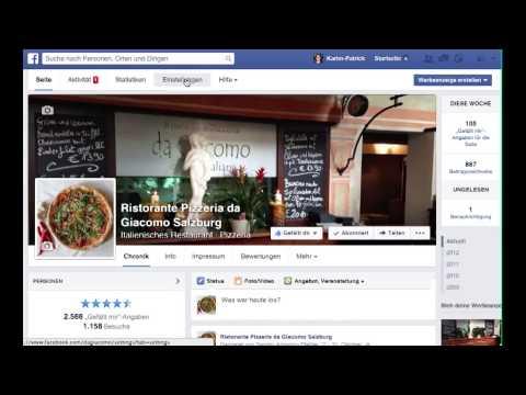 Facebook-Seiten: Bewertungen aktivieren/deaktivieren