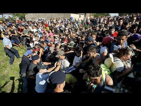 Προσφυγική κρίση: To euronews στα σύνορα της Κροατίας