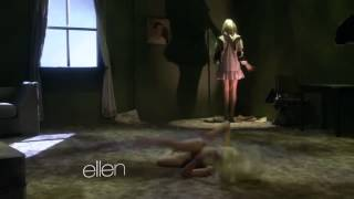Sia Performs 'Chandelier' On The Ellen Show !
