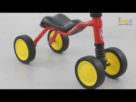 Prezentare video Puky tricicleta fara pedale Wutsch