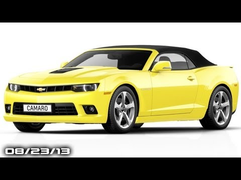 New Camaro Convertible, Saab is Back (kinda), M4 Without Manual, 2015 Audi A8, & Rapid Fire News!