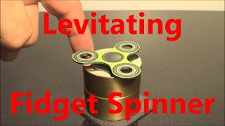 Fidget Spinner that Levitates a World First !By AVA Magnetic Levitation AUS http://www.ava-magneticlevitation.com/If you like these Fidget Spinner things good as I will do a second hi speed RPM Levitating Fidget Spinner vid if you show your support Subscribe, Share,Spread, Thumbs up.I may even do a how to make your own if people ask in the comments.
