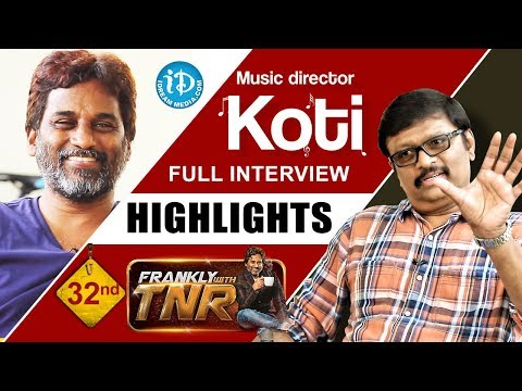 Music director Koti interview highlights; Frankly with TNR