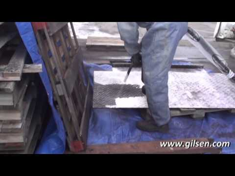 Dry Ice Blasting - Printing Press
