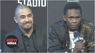 The best of Robert Whittaker and Israel Adesanya's UFC 243 press conference | ESPN MMA