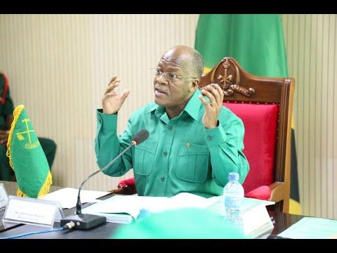 Mgombea Urais CCM Dkt Magufuli akutana na Wazee na Waandishi wa Habari.