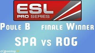 EPS XIII - Poule B - finale W - SPA vs ROG