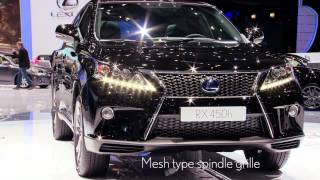 Lexus Chief Engineer Katsuda-san talks about the RX 450h at Geneva 2012