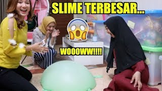 Video WOOOW!!! KITA BUAT SLIME BALON TERBESAR... w/ Marisha Chacha & Tri Atika MP3, 3GP, MP4, WEBM, AVI, FLV April 2019