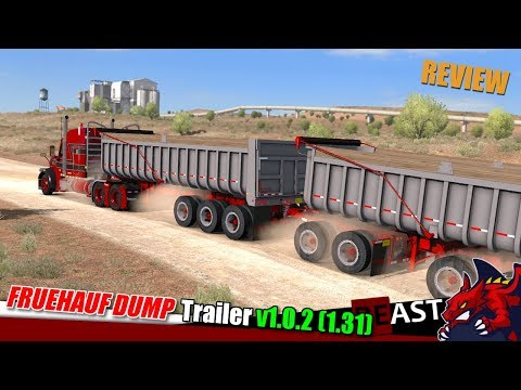 Trailer Fruehauf Dump v1.0.2 1.31.x
