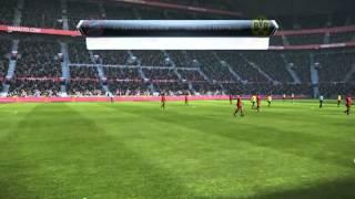 PES 2013№2.Бавария Мюнхен-Боруссия Дортмунд.Про 1/2 финала ЛЧ