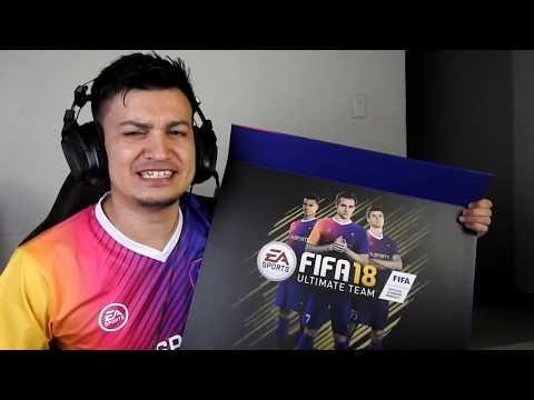 EA SPORTS ME ENVÍA UN REGALO DE FIFA 18 + SORTEO INCREIBLE!!!