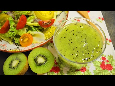 Healthy Recipe : Kiwi Dressing : Kiwi Fruite Recipes : Salad Recipes : 키위 드레싱 : 키위드레싱 레시피