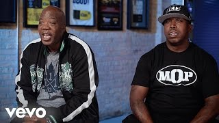 M.O.P. - Us, Nas And Gang Starr Almost Got Into A Real Bad Street Brawl (247HH Exclusive)