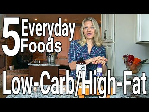 Atkins diet - 5 Low-Carb, High-Fat Foods to Eat Every Day