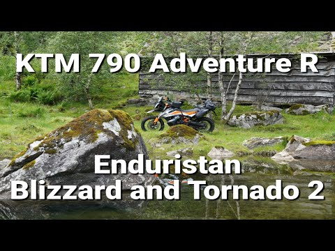 KTM 790 Adventure R - Softbags from Enduristan - Blizzard & Tornado2
