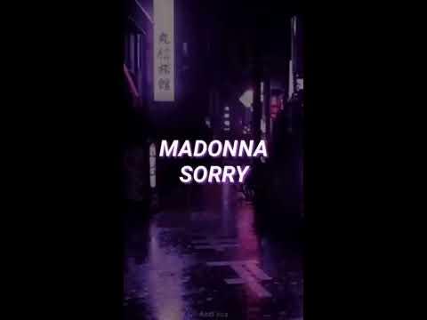 Madonna - Sorry (Sub Español) [Vertical Video]