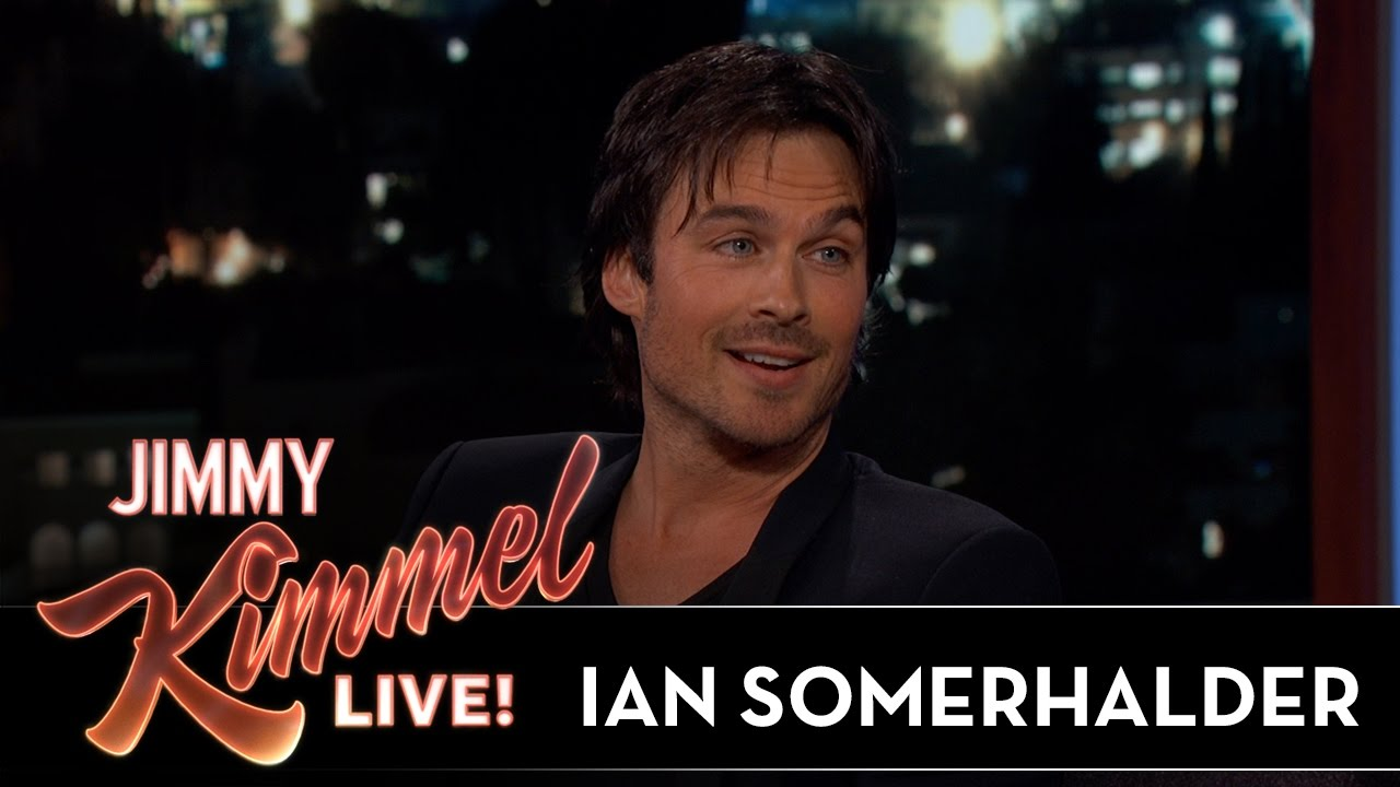 Ian Somerhalder on Vampire Diaries & Lost