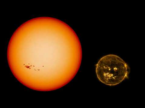 SDO Year 7 - The Solar Cycle timelapse (right brain edit, graph fully blanked until end)_Nap videók