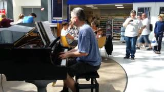 Sia - Chandelier - Piano Cover - Jonny May Version Live at Brodericks Manchester Airport