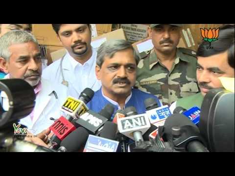 BJP Delhi sent Team of Doctors to help people of J&K - Shri Satish Upadhyay: 19.09.2014