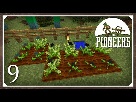 Minecraft Mods: The Pioneers 1.8.9 Modpack | Resourceful Crops | E9 (Modded SSP)