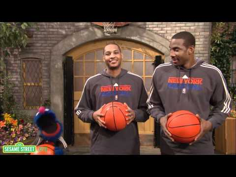 compare - NBA superstars Carmelo Anthony and Amar'e Stoudamire explain the word