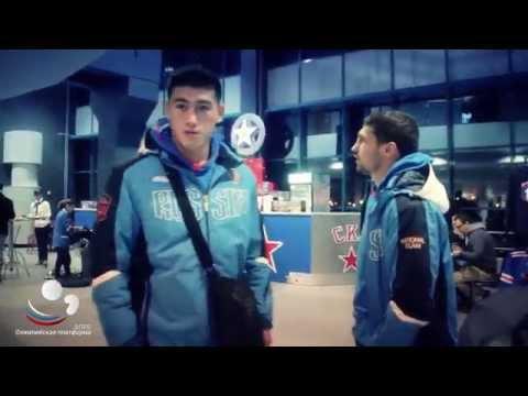 Олимпийская платформа - Олимпийская платформа: Боксеры посетили принципиальный хоккейный матч СКА-ЦСКА.