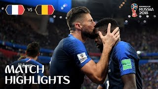 Video France v Belgium - 2018 FIFA World Cup Russia™ - Match 61 MP3, 3GP, MP4, WEBM, AVI, FLV September 2018