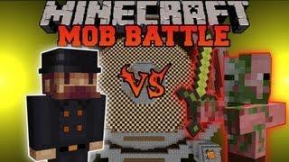 Notch Vs. Zombie Pigman - Minecraft Mob Battles - Arena Battle