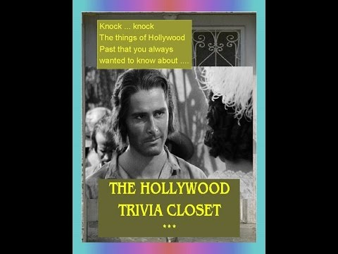 The Ultimate Movies Broadcast Show: The Hollywood Trivia Closet - Errol Flynn