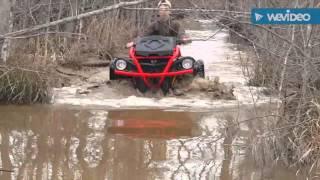 6. can am xmr 570 water wheelies