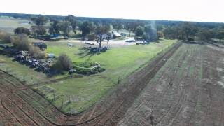 Rutherglen Australia  city photos gallery : Parrot Bebob Drone - Test flight over a winery in Rutherglen, Australia