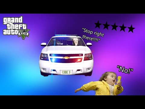 Funniest Police Chase Ever In GTA 5 RP (GTA RP Funny Moments)