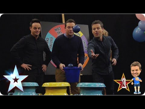 milk - Ant and Dec churn out another Fairground Fantasy and the boys are really milking it!! Who will chuck the most balls into the milk churn? Watch it again with ...