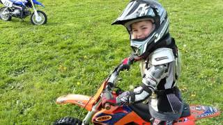 4. Gabe ripping on his ktm pro Jr 50