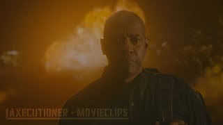 Nonton The Equalizer  2014  All Fight Scenes  Edited  Film Subtitle Indonesia Streaming Movie Download