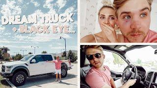 parker got his dream truck!! + a black eye... (also a car tour) by Aspyn + Parker