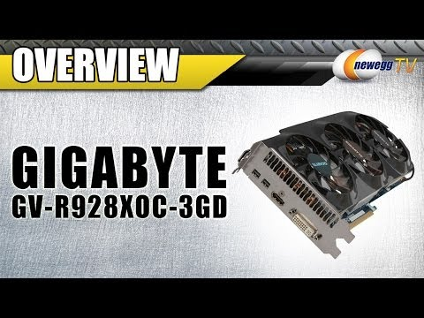 GIGABYTE Radeon R9 280X HDCP Ready CrossFireX Support Video Card Overview - Newegg TV