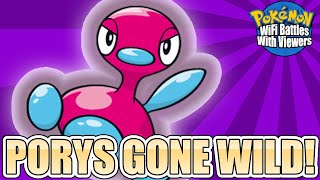 PORYS GONE WILD! |  Pokémon WiFi Battles With Viewers Highlight by Ace Trainer Liam
