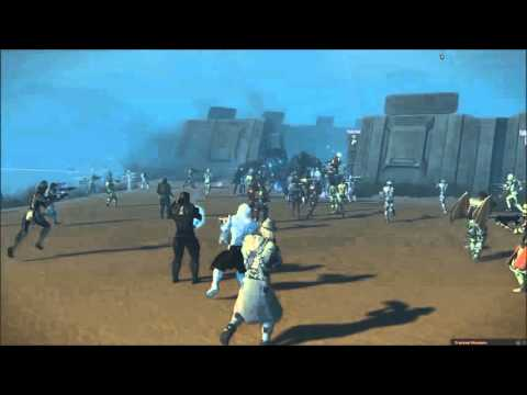 Entropia Universe: Dynamic Event on Planet Calypso
