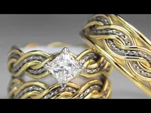 Unique Diamond Wedding Rings by Todd Alan