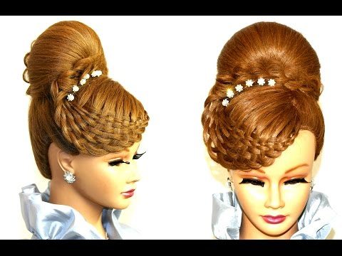 Hairstyles for long hair. Updo hairstyles.