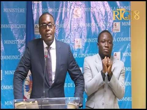 Ministère de la Justice et de la Sécurité Publique / Conférence de presse