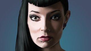 Artrage Time Lapse #12: Abbie Mac 2
