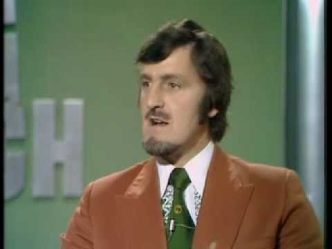 Jimmy Hill Runs The Line