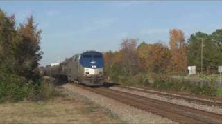 Rocky Mount (NC) United States  City new picture : USA 2008 Amtrak around Rocky Mount NC
