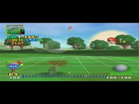 mario golf nintendo 64 coolrom