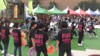 羽黒H28夏祭り1・東部中吹奏楽演奏