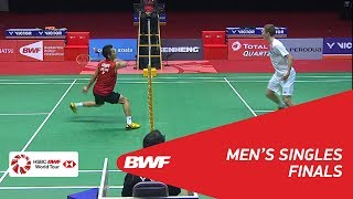 Video MS | Viktor AXELSEN (DEN) [1] vs Kenta NISHIMOTO (JPN) | BWF 2018 MP3, 3GP, MP4, WEBM, AVI, FLV September 2018